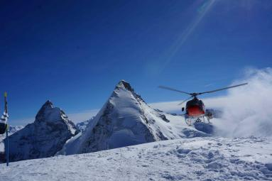 Haute Route Exklusiv: Helicopter Skiing